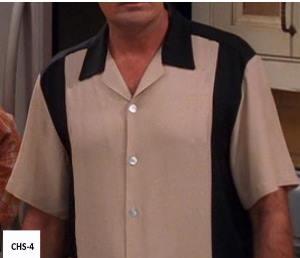 CHS-4 Charlie's Bowling Shirt