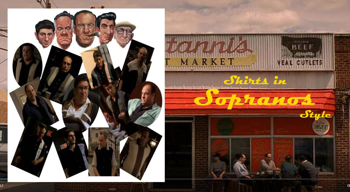 The Sopranos shirts available in Australia