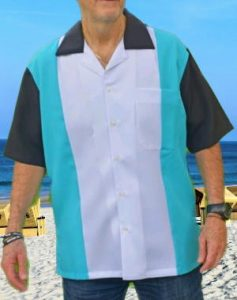 Bowling shirt in retro style