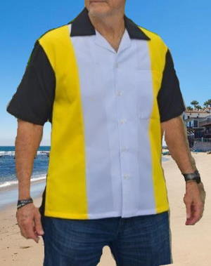 Bowling style shirt RBX18
