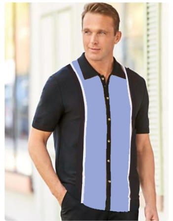 Vintage styling mens shirt