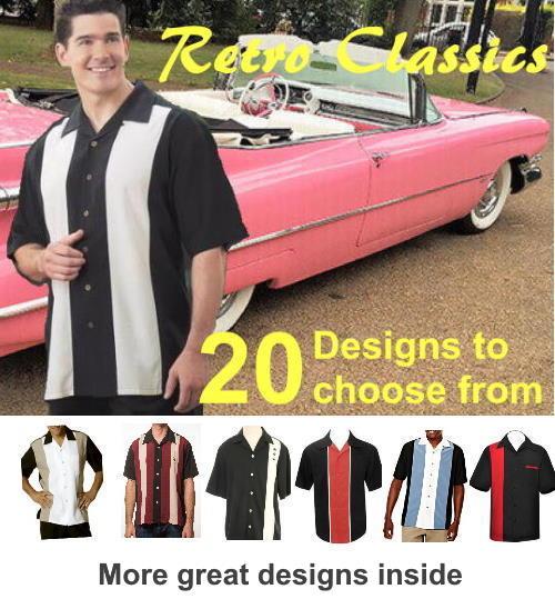 Retro Bowling Shirts Collection