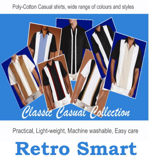 Retro smart shirt collection