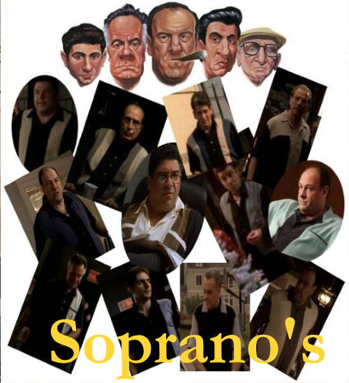 Shirts from The Sopranos show