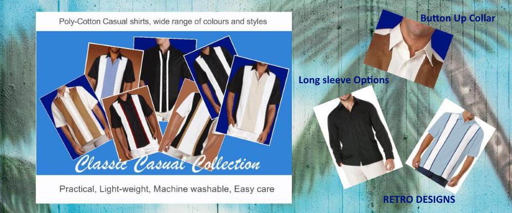 Classic Retro Casual Shirts